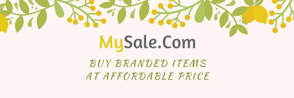Shop Your Branded Items at MySale.Com
