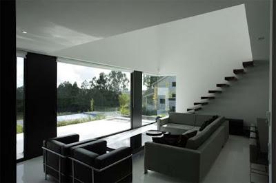 C mo cambiar la decoraci n de tu casa con la combinaci n for Disenos de interiores en blanco y negro