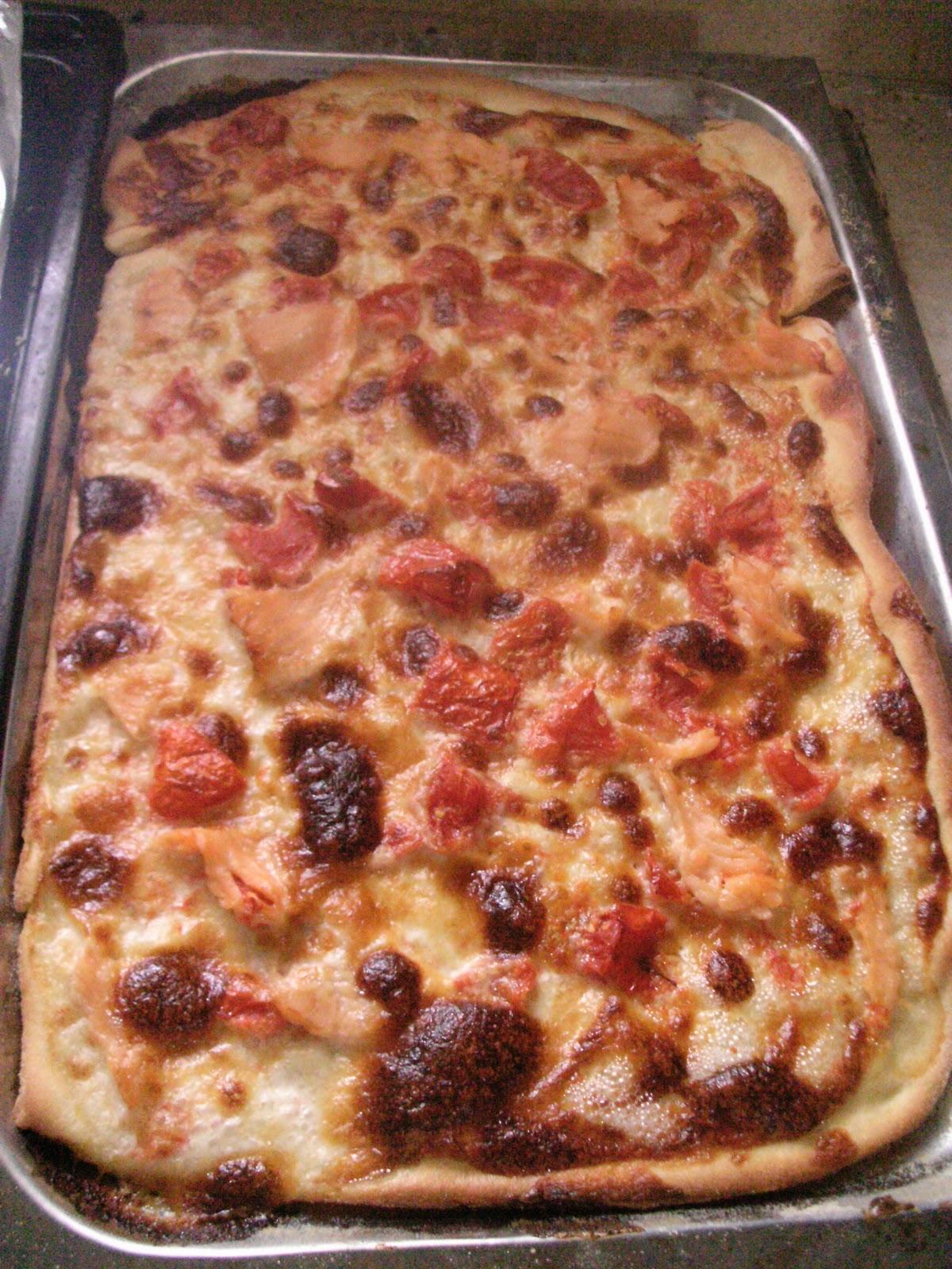 Cosa cucino oggi pizza stracchino e salmone - Cosa cucino oggi a cena ...