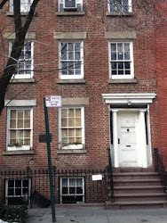 Washington Irving's House Greenwich Village