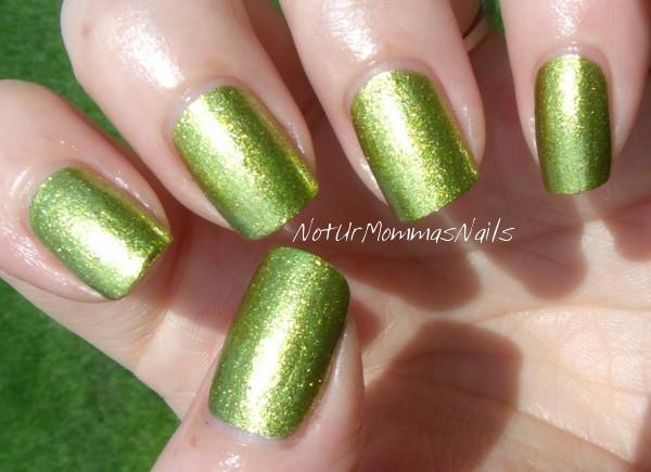 Lime green chrome