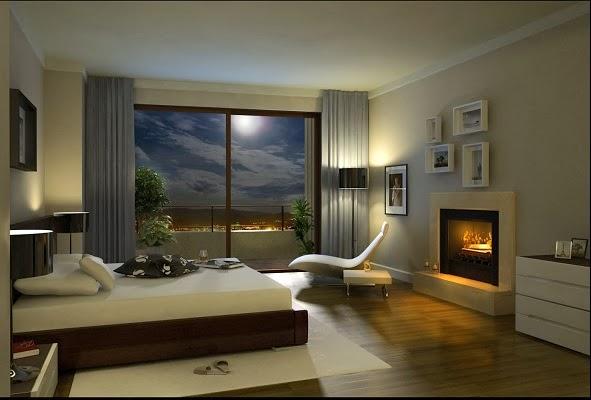 Decoraci n de cuartos dormitorios alcobas habitaciones - Iluminacion para dormitorios ...