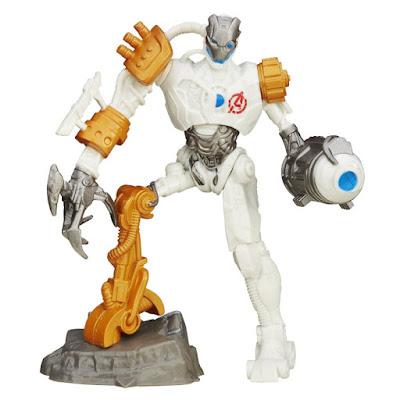 TOYS : JUGUETES - PLAYMATION  Marvel Avengers - Ultron Bot : Villain Smart Figure  Los Vengadores - Ultron Bot | Villano | Figura - Muñeco  Producto Oficial Disney 2015 | Hasbro B2856 | A partir de 6 años  Comprar en Amazon