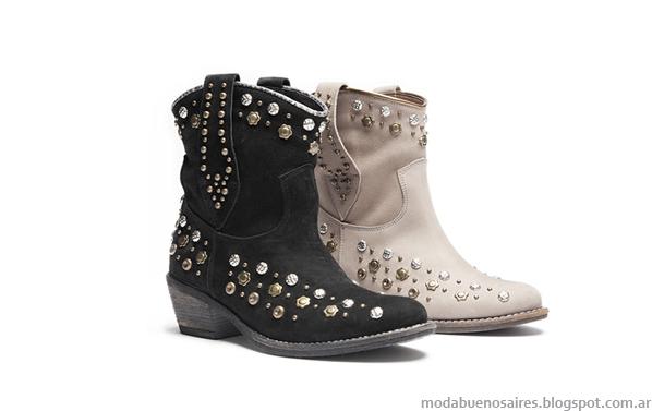 Botas texanas moda invierno 2013