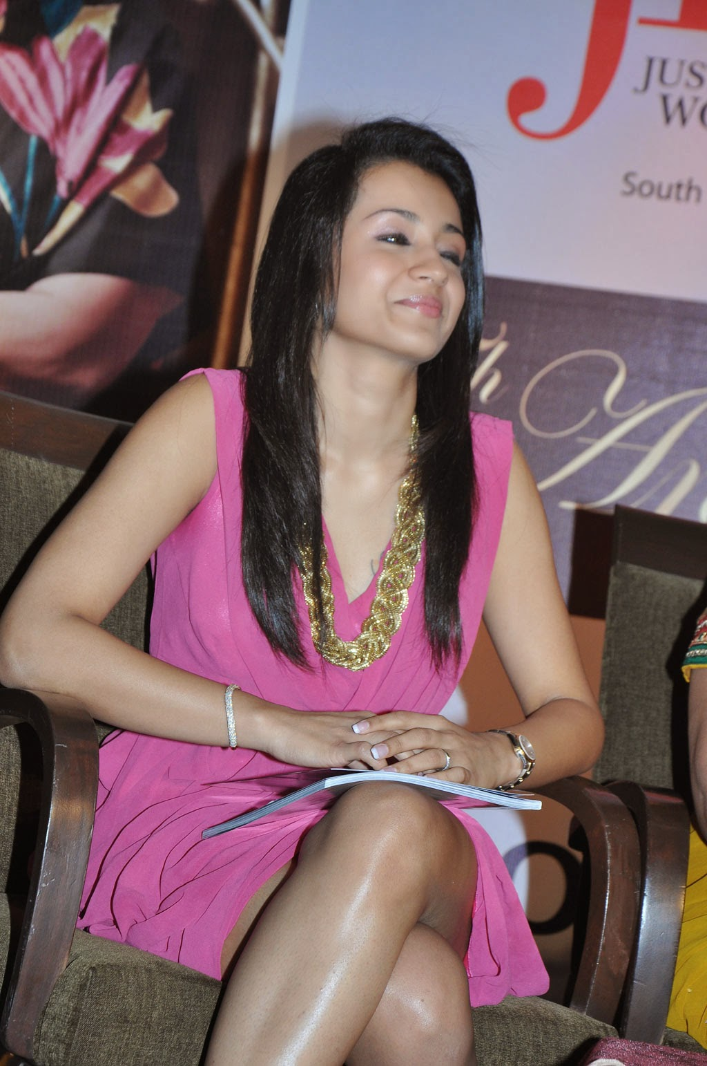 trisha latest hot legs wallpaper