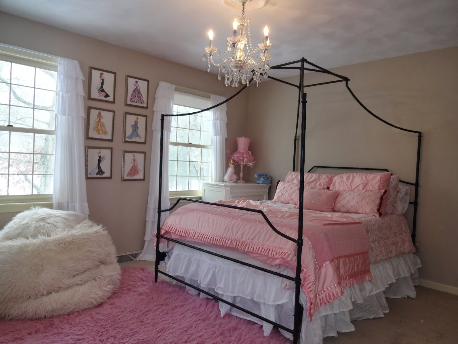 Barbie bedding pottery barn - Bed Pottery Barn Teen Maison Bed Bedding Circo Princess Bedding Bed Skirt Target Pottery Barn Furliciuos Bean Bag Barbie Artwork Diy Instructions Here