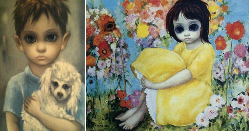 Vintage Margaret Keane Paintings For Sale