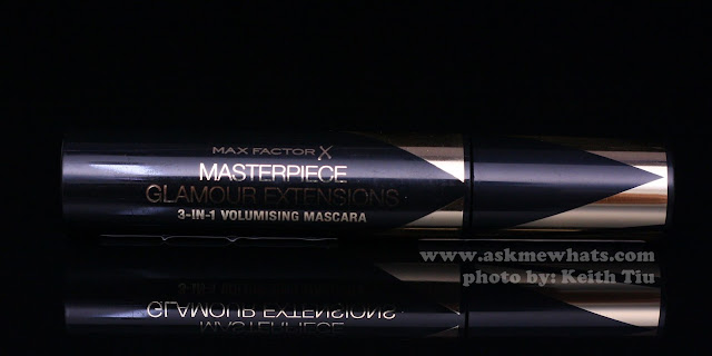 A photo of Max Factor X Masterpiece Glamour Extensions 3-in-1 Volumising Mascara