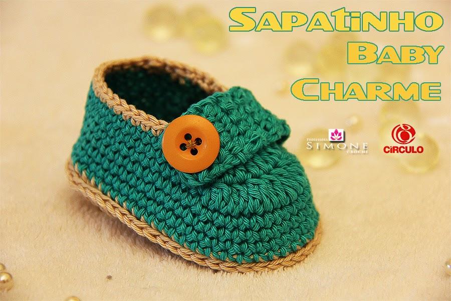 Tutorial Botines del bebé Charm Paso a Paso | Patrones Crochet ...