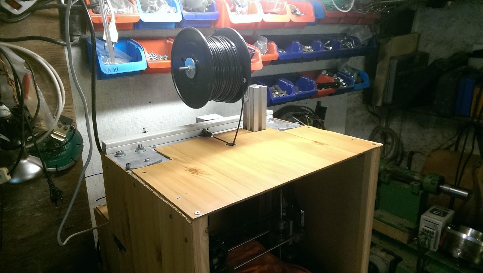 3d drucker im eigenbau geh usebau gegen warping. Black Bedroom Furniture Sets. Home Design Ideas