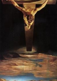Mestre do Surrealismo, Salvador Dalí (1904-1989) se inspirou num desenho do monge e místico espanhol São João da Cruz para compor essa ascensão de Cristo ao céu. Segundo o artista, porém, a imagem também lhe foi sugerida num sonho, em que viu um círculo dentro de um triângulo (repare na geometria da cabeça e do corpo da figura) MAIS Reprodução