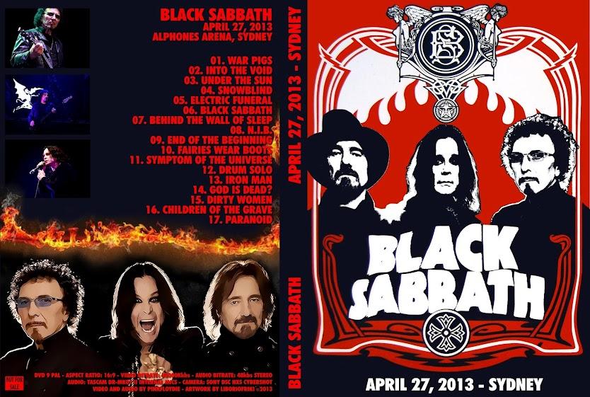 Black Sabbath: Live Sydney Allphones Arena DVDcover