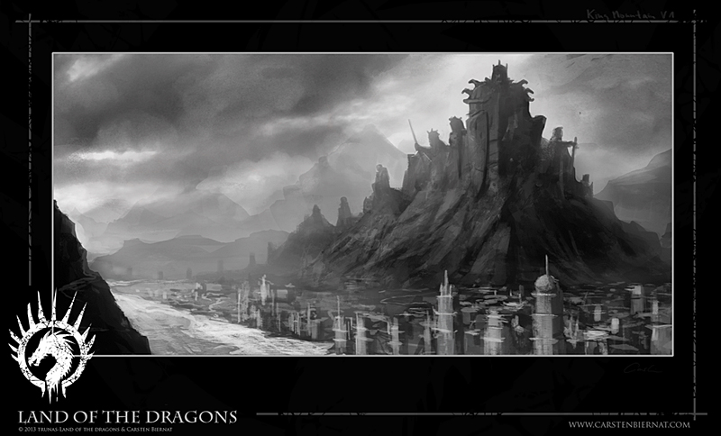 Land of the Dragons - The Concept Book by Carsten Biernat