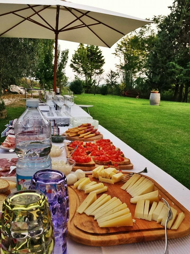 Italian entertaining, Tenuta Carlini Winery