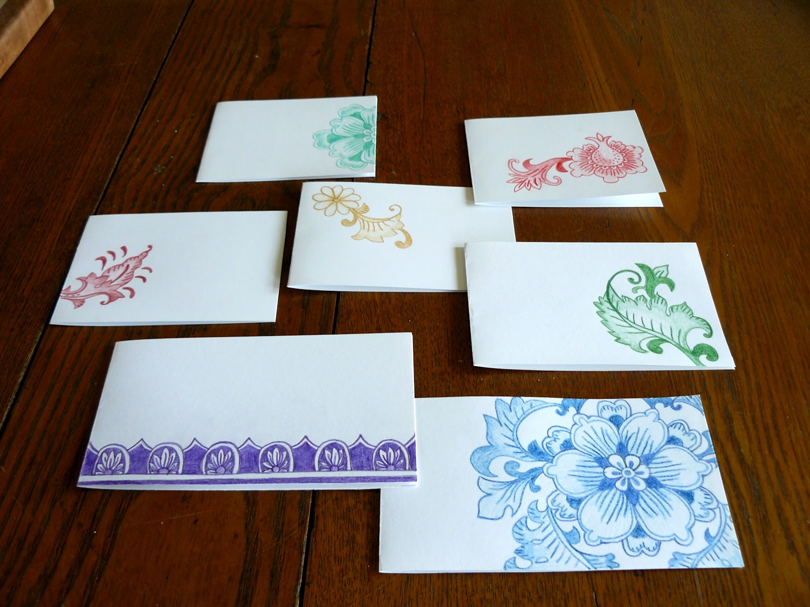 The Woven Home Card Making Projects Colored Pencil Greeting Cards