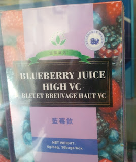 blueberry juice minuman kesehatan ekstrak blueberry