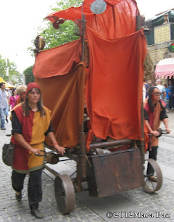 Animação na Viagem Medieval 2012