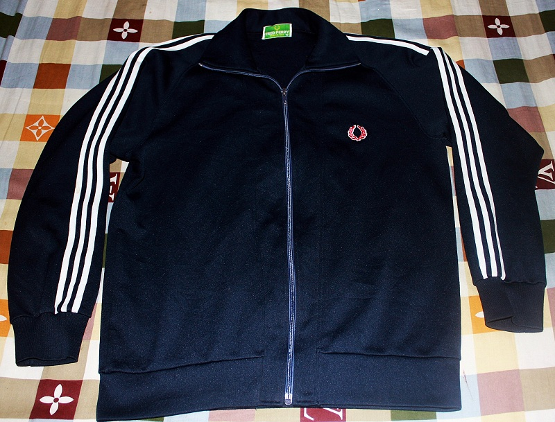 Vtg Fred Perry jacket made in japan size M rk33HiFHd