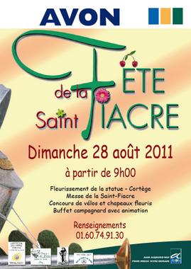 affiche St-Fiacre Avon 2011