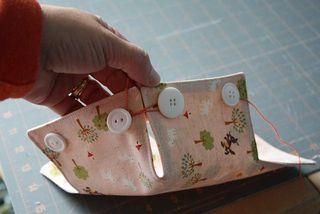 Entre barrancos manualidades cestos de tela tutorial - Cestos de tela ...