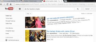 YouTube Harlem Shake