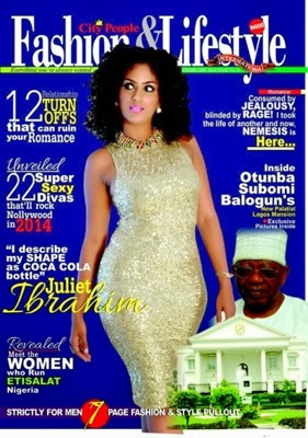 Nollywood By Mindspace Juliet Ibrahim Covers City People Fashion And Lifestyle Magazine
