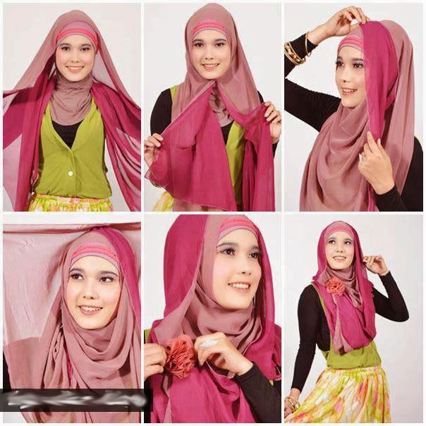 Comment faire le hijab moderne