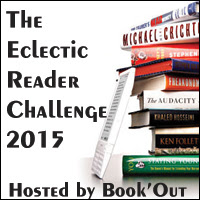 The eclectic reader challenge badge.