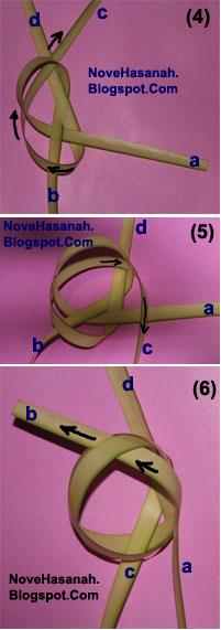 Cara Membuat Kepiting dari Daun Kelapa (Janur) 3