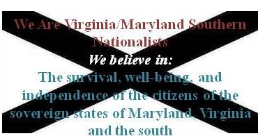 VA-MD Southern Nationalist