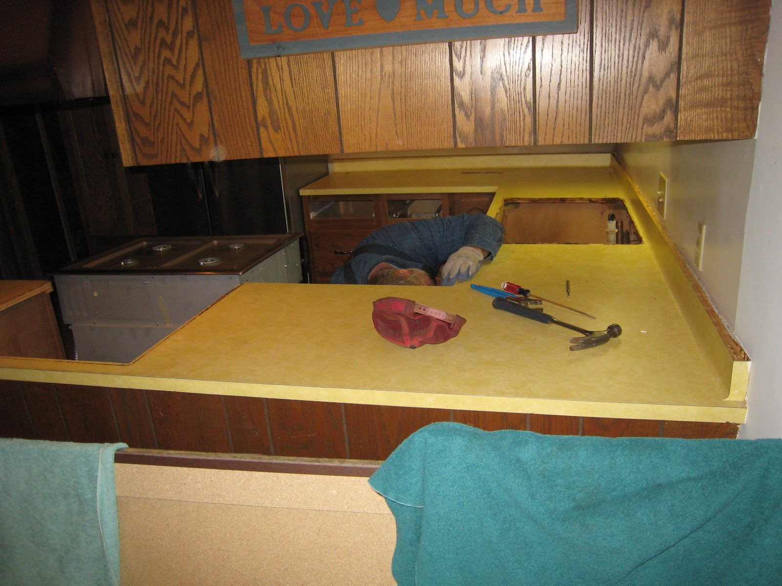 Remove Countertop Stove : MadCityMikes Blog: