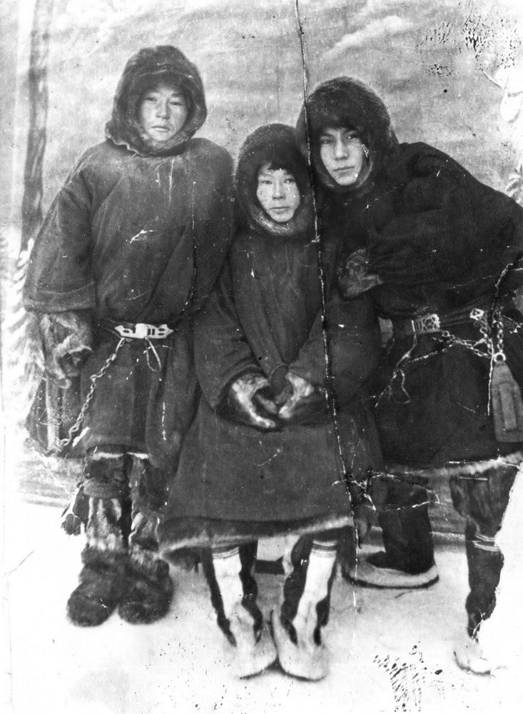 Илья Тайбарей, на снимке справа Фото из фондов НКМ