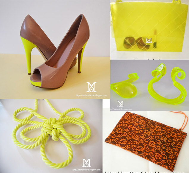 neon, neon diy, neon diy shoes, diy neon bag, diy candy bag, neon diy bracelet