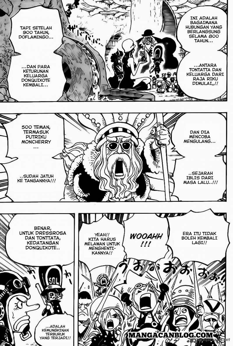 Komik one piece 726 - keluarga riku 727 Indonesia one piece 726 - keluarga riku Terbaru 17|Baca Manga Komik Indonesia|Mangacan