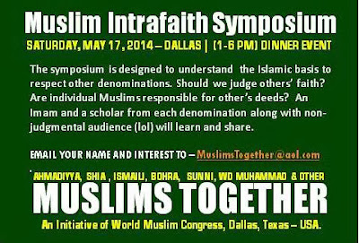 MUSLIM INTRAFAITH EVENT
