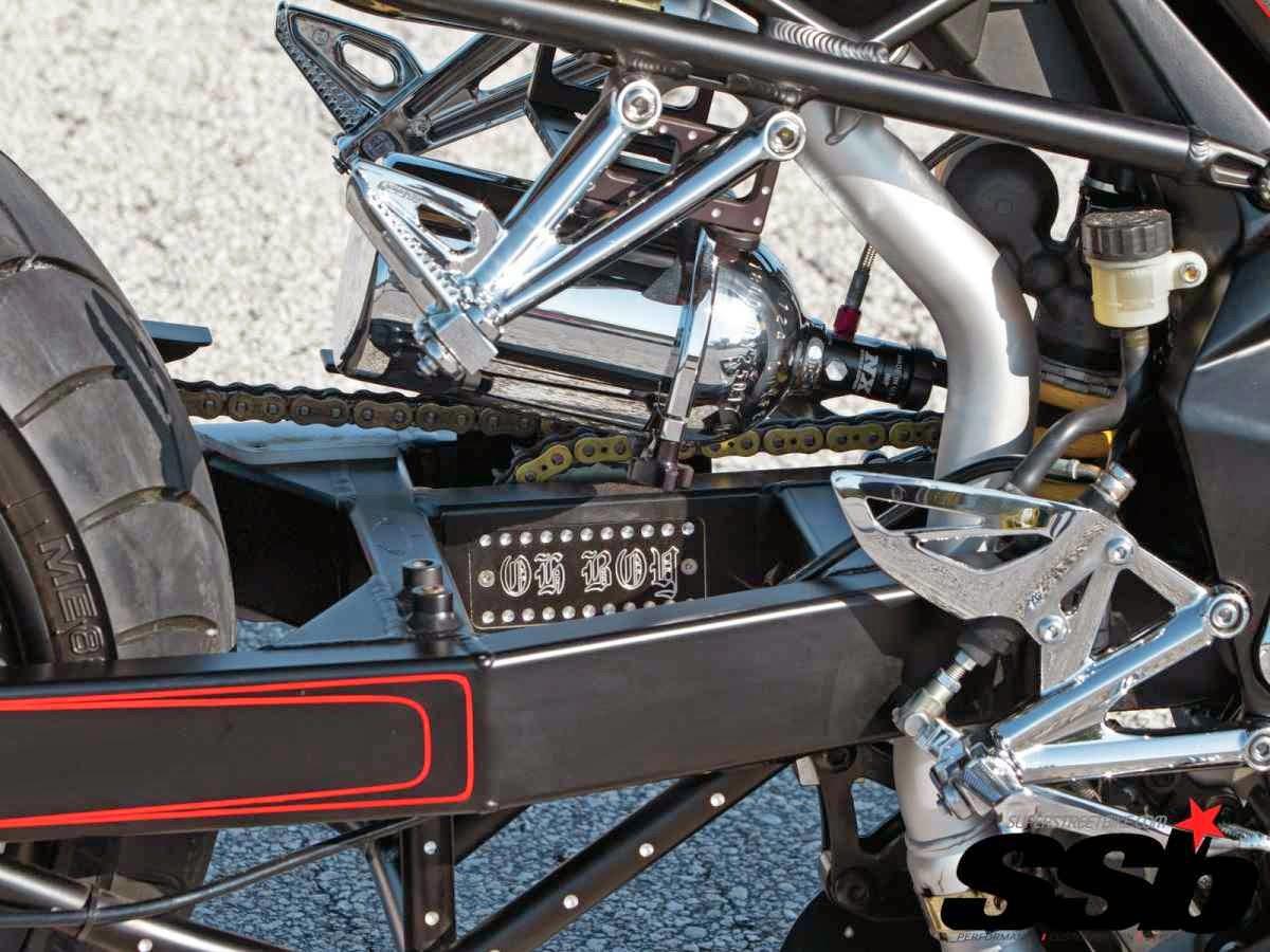 Custom Modifikasi Motor Triumph Daytona 675 Tahun 2008