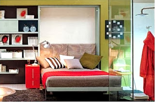 Take advantage of the space with Murphy beds