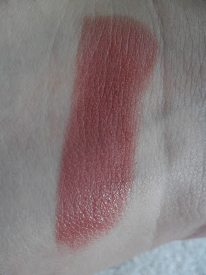 MAC Creme in Your Coffee lipstick swatch