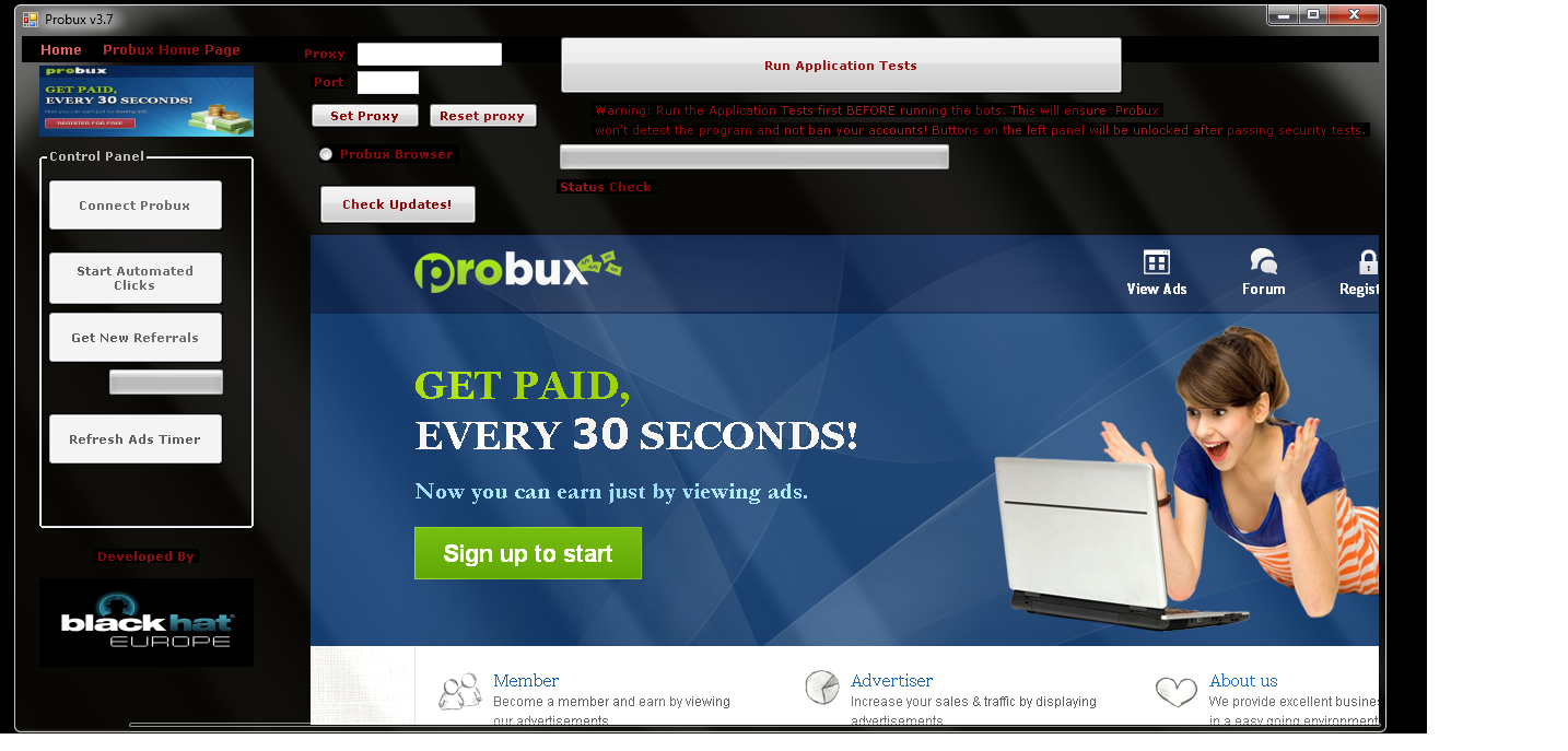probux bot