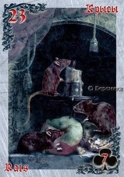 Сравнительная характеистика ОРАКУЛОВ ЛЕНОРМАН 23