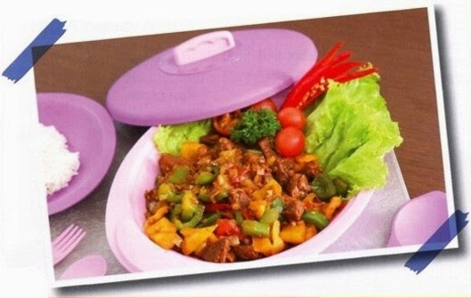 Daging Sapi Lada Hitam - Edisi Resep Masakan Tulipware, Deep Wok