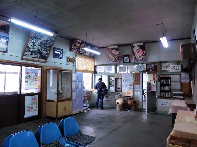 駅待合室,津軽五所川原駅〈著作権フリー無料画像〉Free Stock Photos