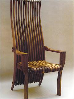 Cadeiras de madeira para jardim