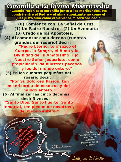 coronilla a la divina misericordia imprime