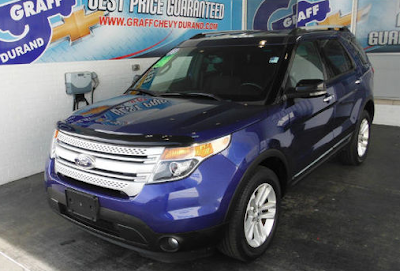 Used 2013 Ford Explorer XLT 4x4 for Near Fenton, MI