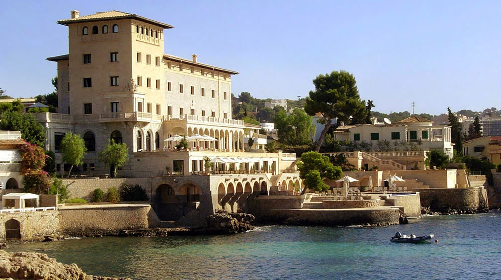 Hotel hospes maricel spa 5 luxury hotel luxury - Spa palma de mallorca ...