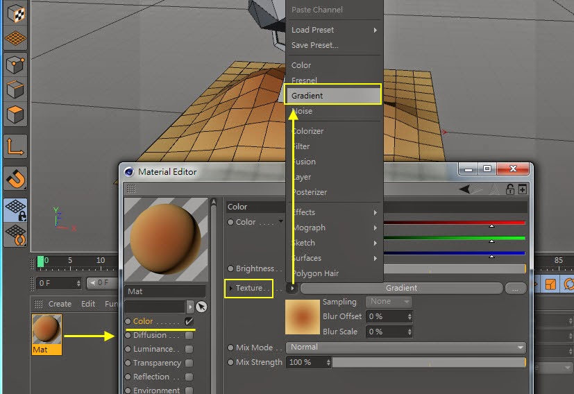 Low-Poly & GI Baking in Cinema 4D 05