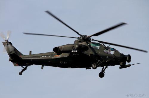 Helikopter serang WZ-10