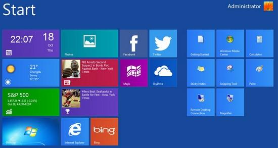 Chuyển giao diện của Windows cũ sang Windows 8 chỉ bằng 1 click chuột