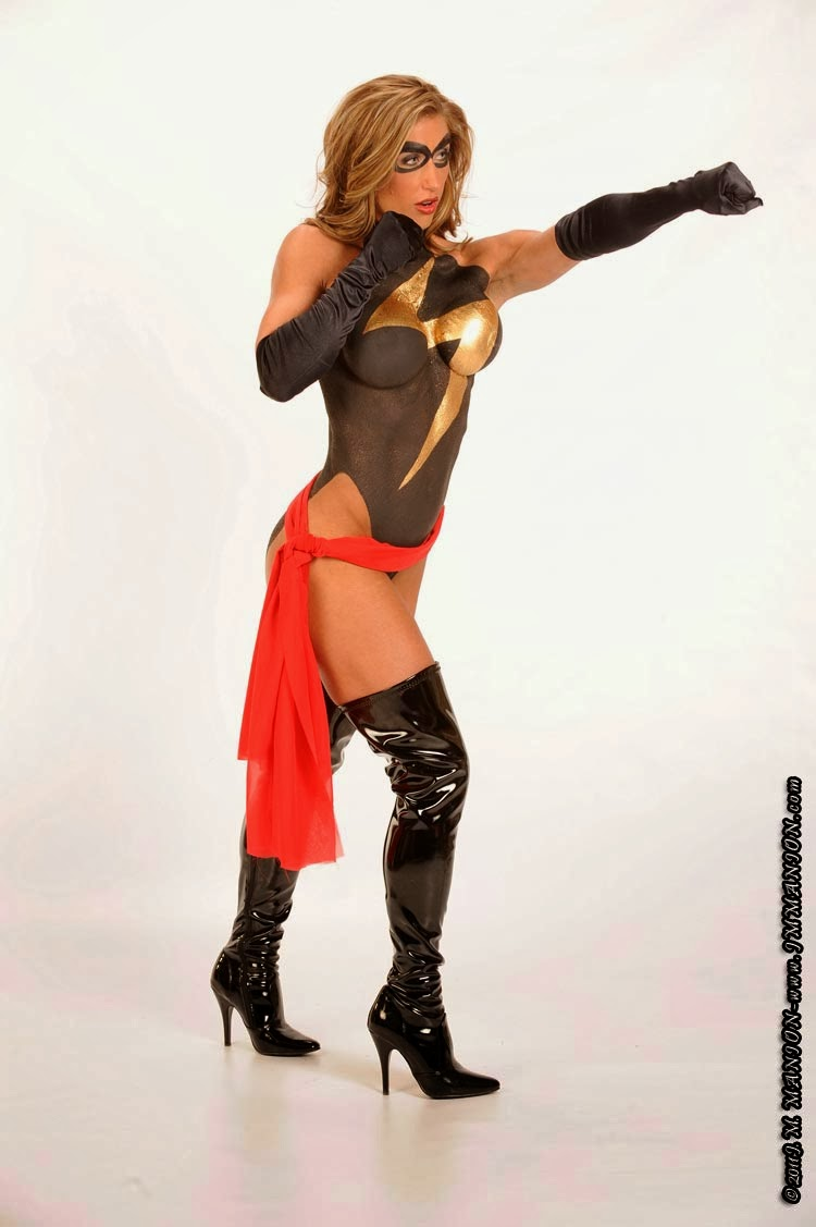 Bodypainting - Ms. Marvel - Heather Mae Sosias